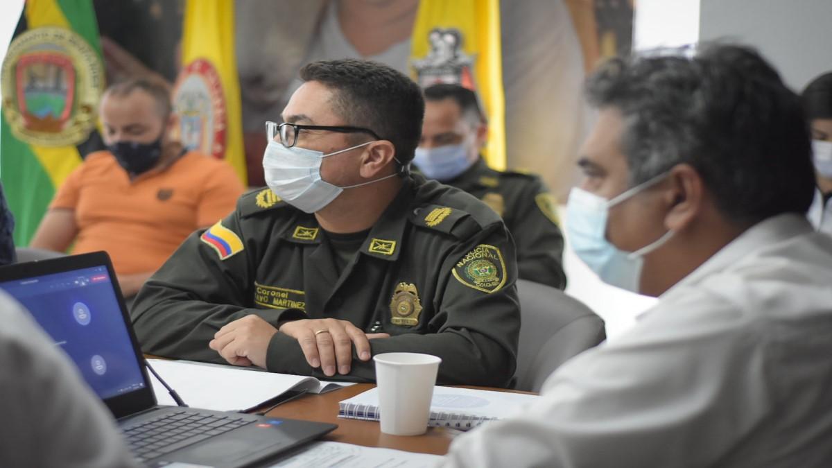 Alcaldía realiza primer Consejo de Seguridad del año 2021
