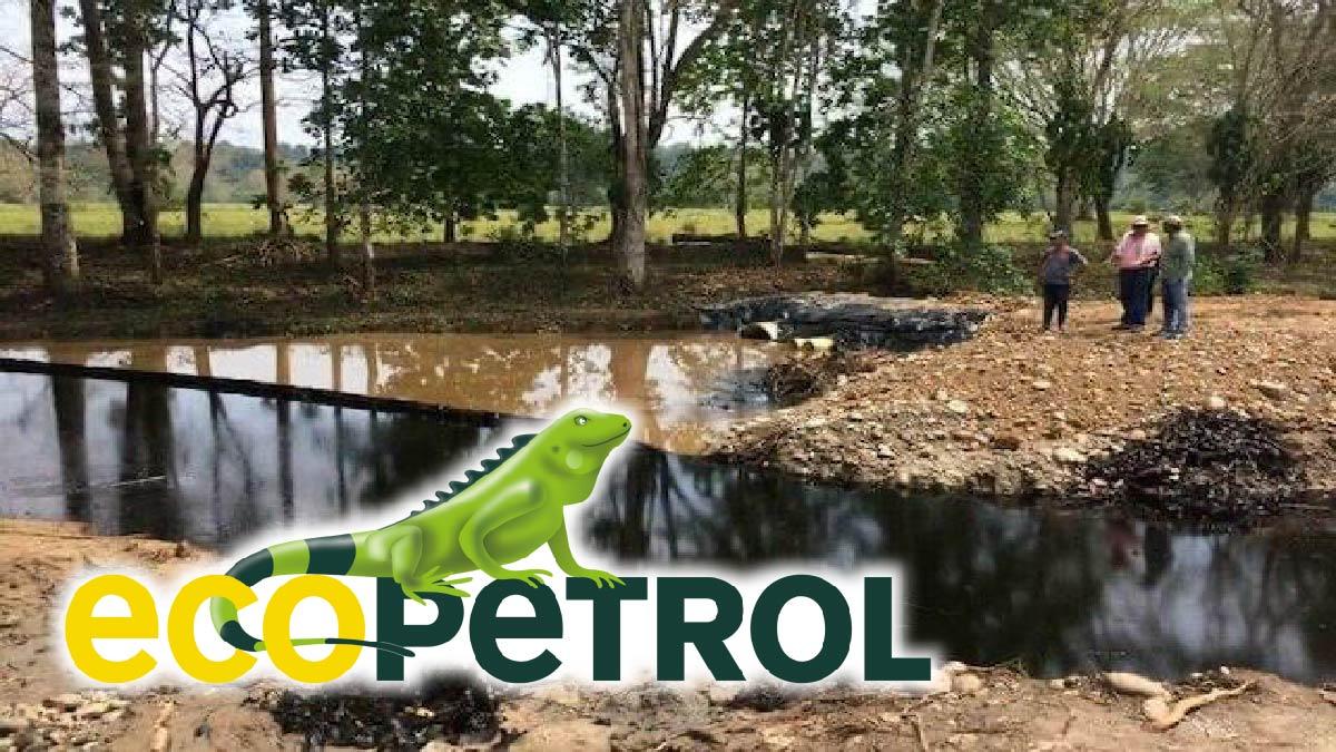 Ecopetrol, multada con más de $3.800 millones por derrame en quebrada La Lizama