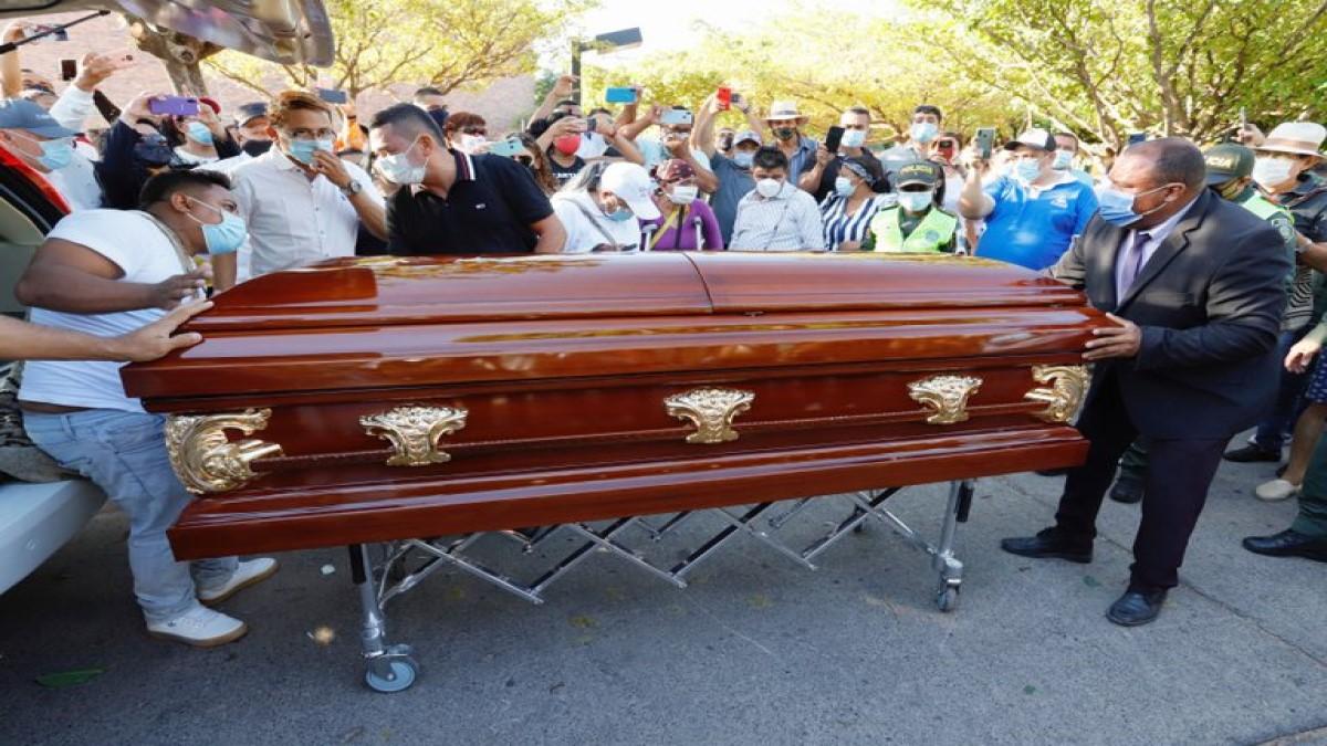 3 días de luto en Valledupar por muerte de Jorge Oñate