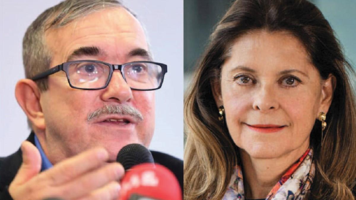 """Timochenko le pide a Marta Lucía Ramírez: """"Renuncie, vaya a la JEP y cuente todo"""""""