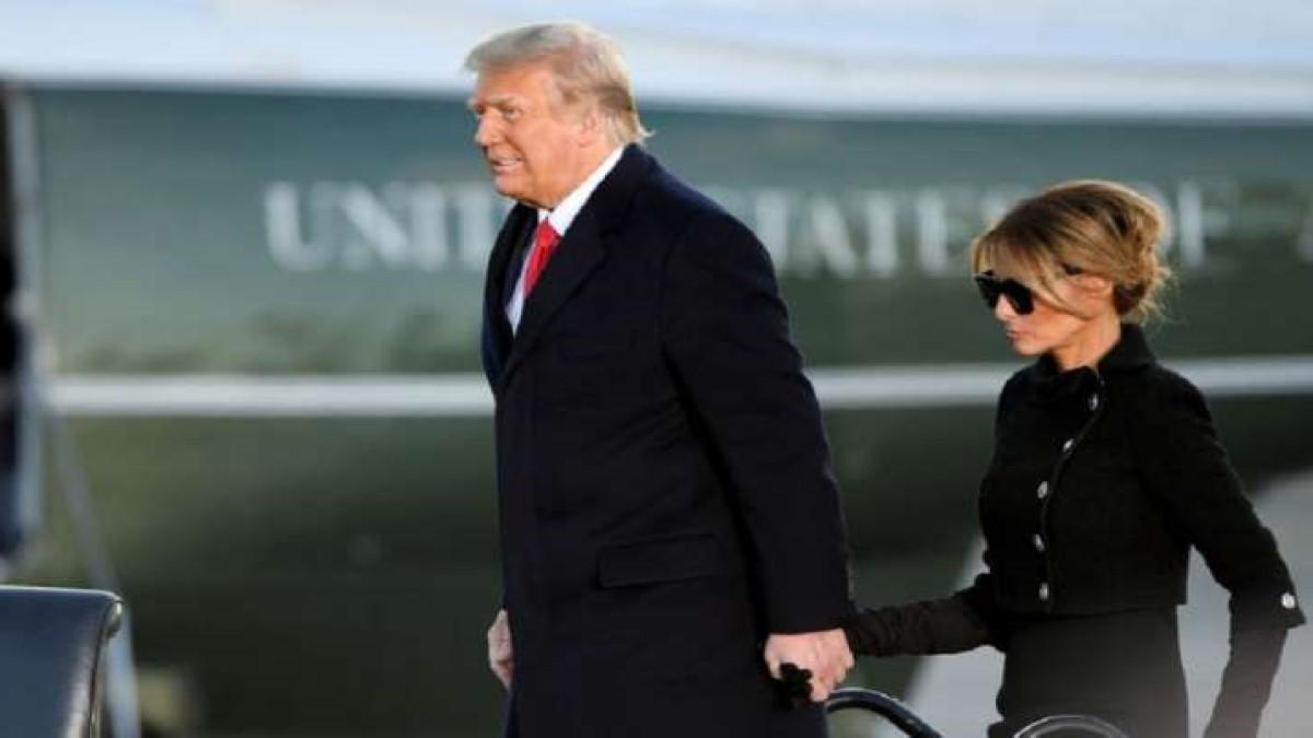 Trump y Melania se habrían vacunado a escondidas, días antes de dejar la Casa Blanca