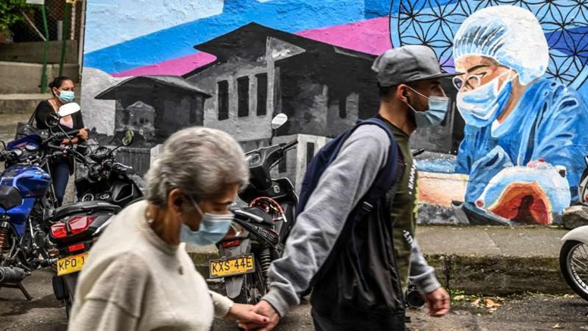 Brasil, México y Colombia, los países más afectados por el coronavirus en Latinoamérica
