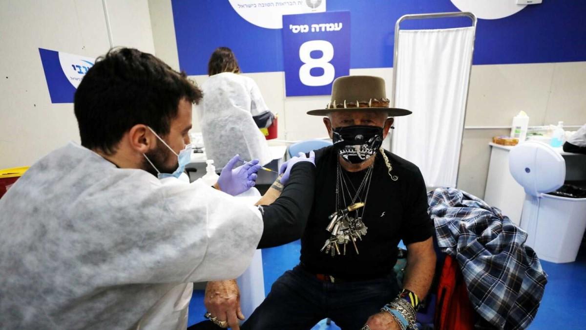 Israel líder de vacunación per cápita a nivel mundial