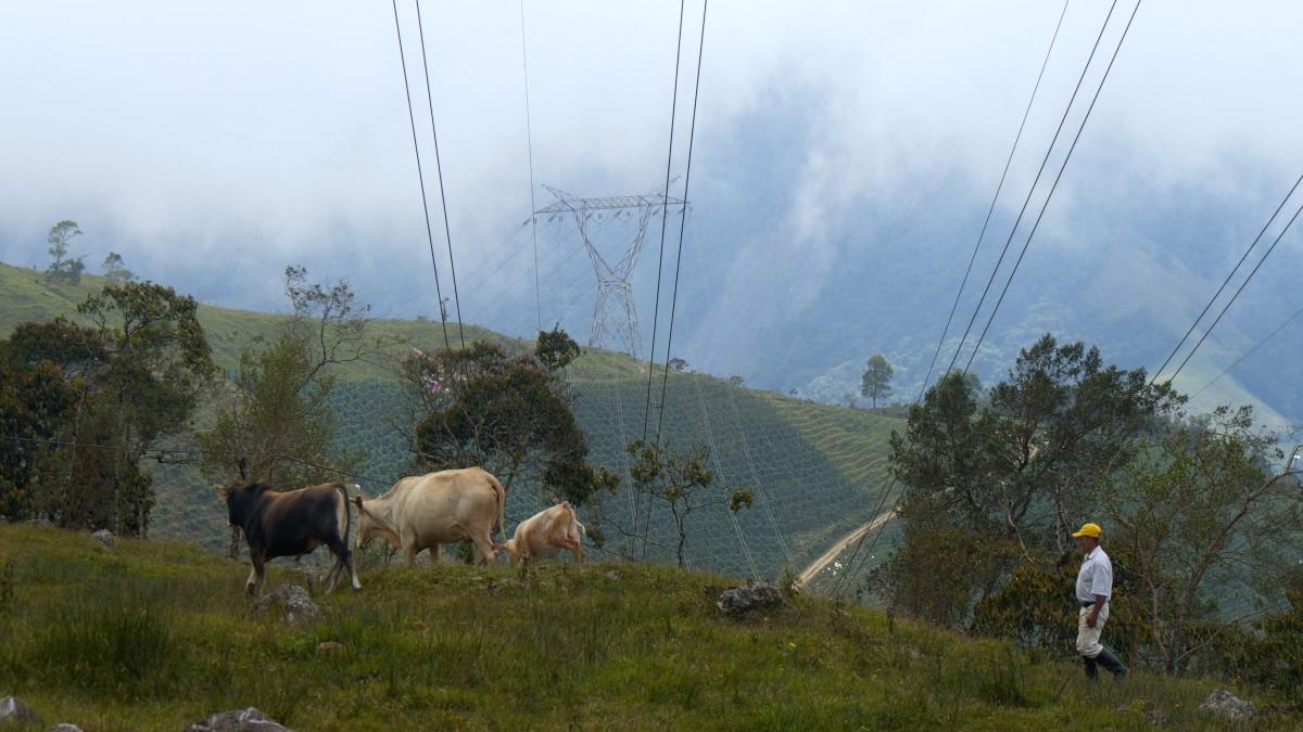Así convive la infraestructura eléctrica del GEB con las personas y la naturaleza en el centro del pais