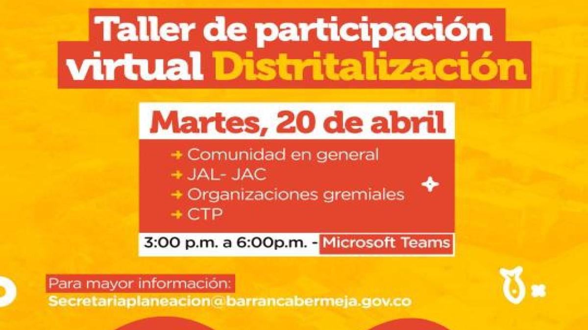 Alcaldía pide construir entre todos nueva división política administrativa del Distrito