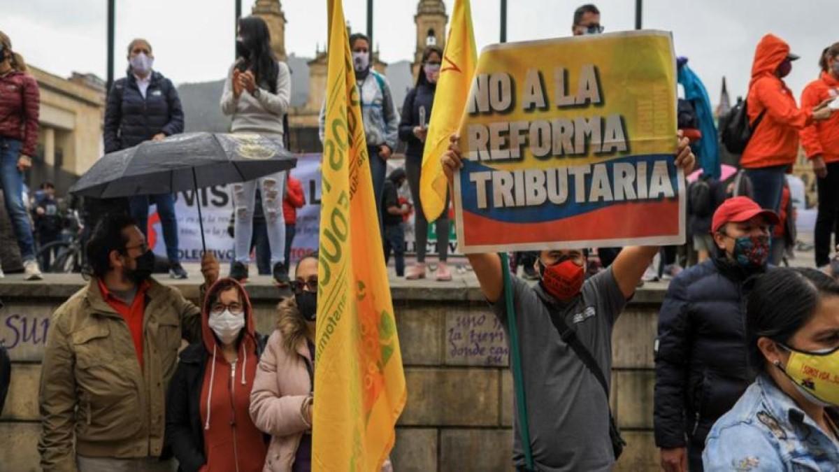Tribunal de Cundinamarca ordena aplazar protestas en Colombia