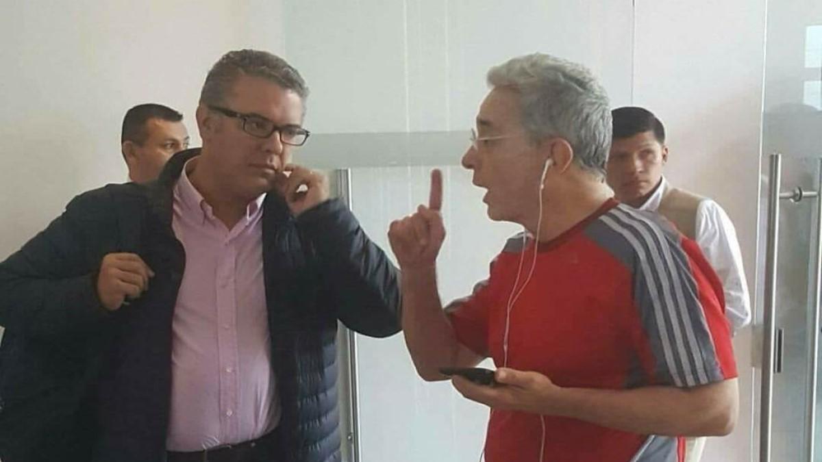 Uribe asegura que a Duque le ha faltado autoridad durante el paro