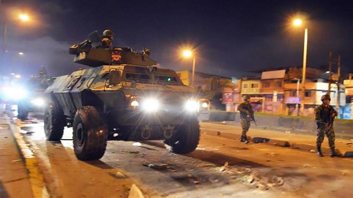 Iván Duque dio la orden de militarizar las ciudades
