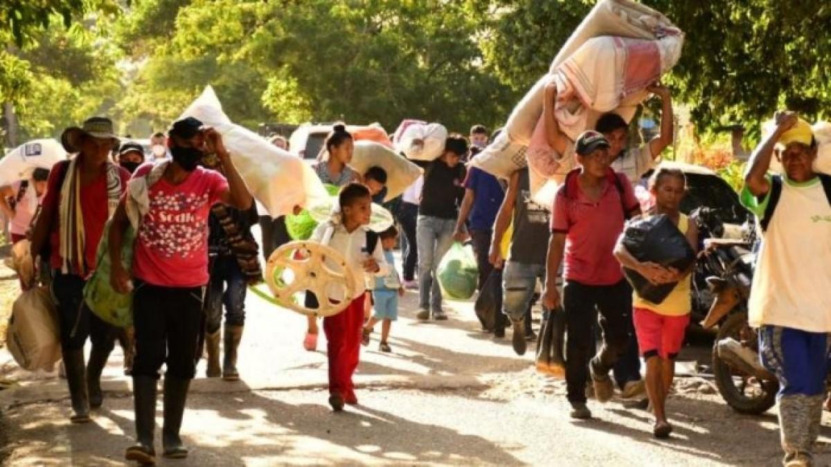 Desplazamiento en Colombia aumentó en un 101%
