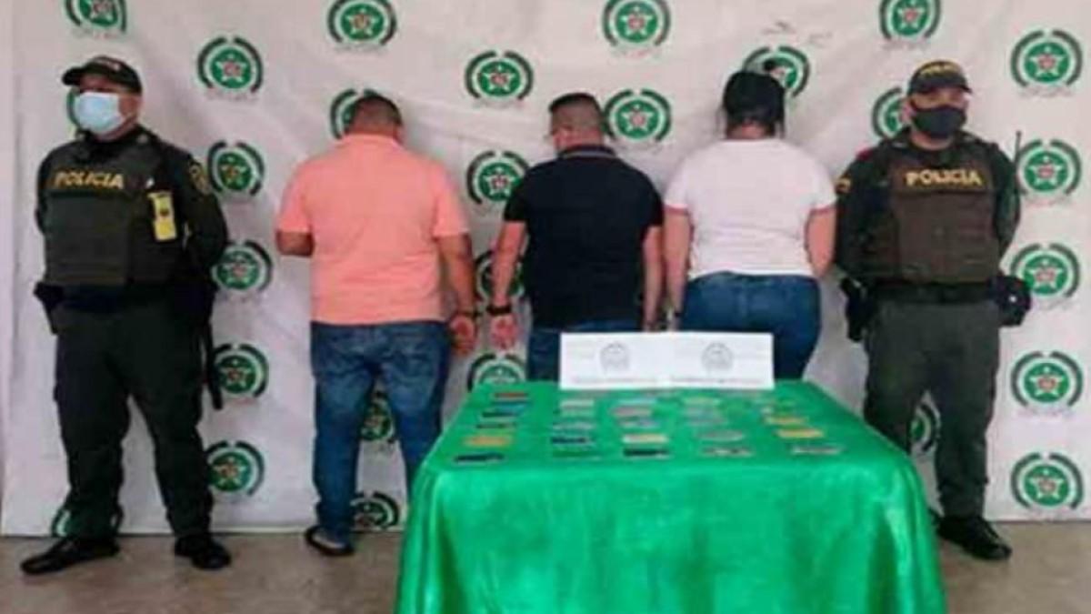 Cayeron delincuentes  dedicados al cambiazo de tarjetas a usuarios en cajeros electrónicos en B/bermeja