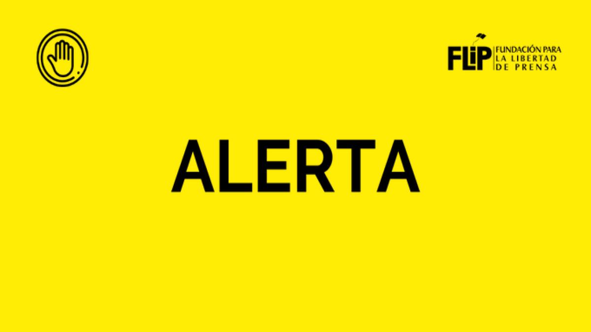 La FLIP expresa su preocupación por la situación de seguridad de los periodistas de Canal 2