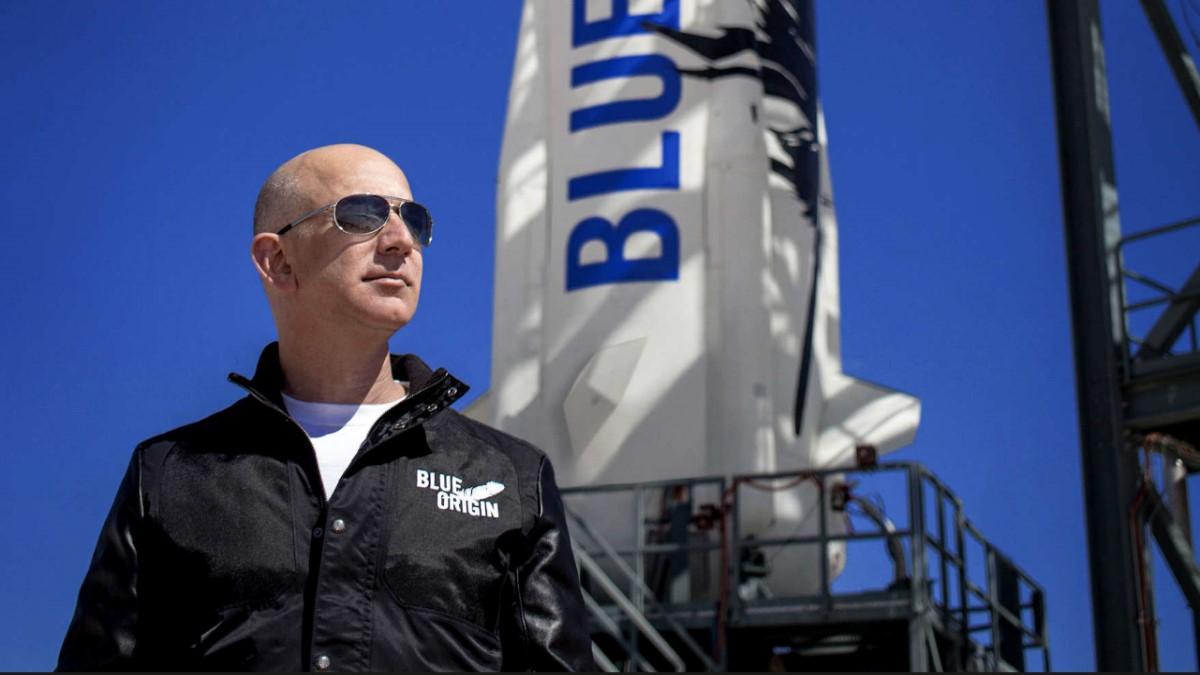 Jeff Bezos de Amazon hará historia con el primer vuelo suborbital sin piloto