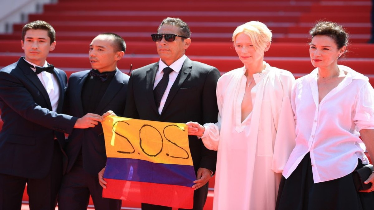#SOSColombia en Cannes