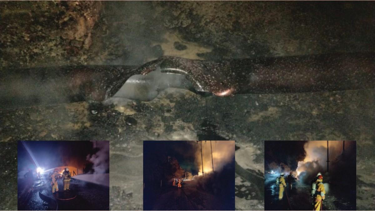 Ecopetrol activó plan de contingencia por explosiones en el corregimiento El Centro de B/bermeja