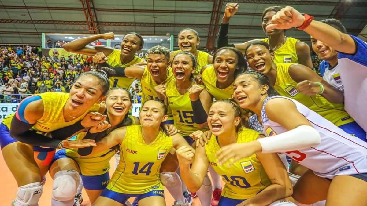 Colombia subcampeona del suramericano de voleibol: clasificó de manera directa al mundial