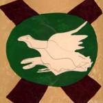 Oiseau sur Fond de X