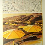 Yellow Umbrellas Poster by Christo