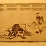 Tauromaquia, Plate 25