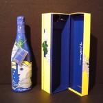 1985 Champagne Taittenger Brut Bottle