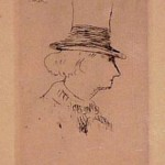Baudelaire en Profil