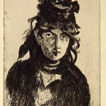 Portrait of Berthe Morisot, 1905