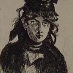 Portrait of Berthe Morisot, 1912