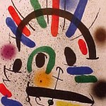 Miro Lithograph I, Number II