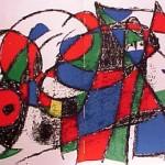 Miro Lithograph II, Number III