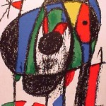 Miro Lithograph II, Number V
