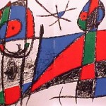 Miro Lithograph II, Number VI