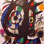 Miro Lithograph III, Number I
