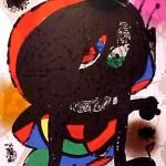 Miro Lithograph III, Number III