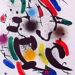 Miro Lithography I, Number VI