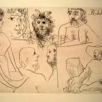 El Entierro del Conde De Orgaz, Plate 11