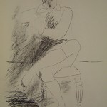 Seated Man on Chair