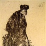 Man in a Coat and Fur Cap