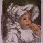 Renoir - L'Enfant au Biscuit
