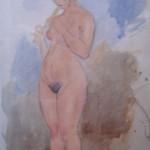 Nude Flutist