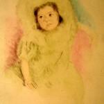 Margo Wearing a Bonnet (color)