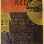 Periscope, Etching & aquatint by Jasper Johns