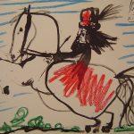 Picasso Nina a Caballo XII