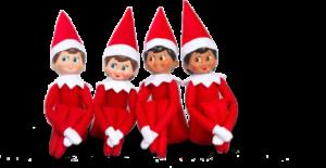 4 Elf on a Shelf Dolls