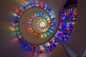 Picture of 'Glory Window' Chapel of Thanksgiving, Dallas Texas