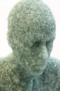 """Picture of """"Shattered Glass Sculpture"""" by Daniel Arsham"""
