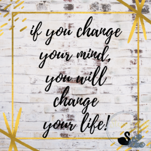"Text ""if you change your mind you will change your life!"""