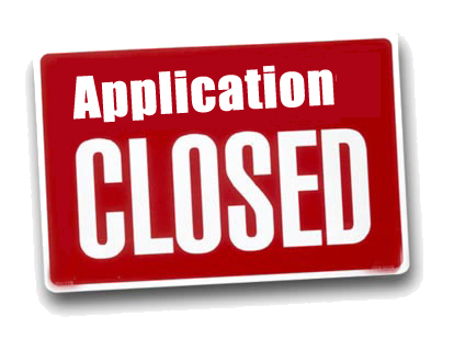 applications-closed