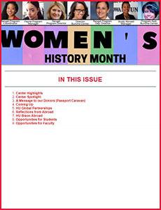 Issue 11 - Ralph J. Bunche International Affairs Center Newsletter!