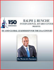 Issue 3 - Ralph J. Bunche International Affairs Center Newsletter!