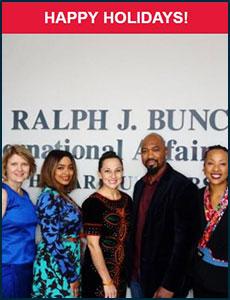 Issue 8 - Ralph J. Bunche International Affairs Center Newsletter!