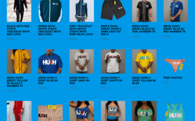 Check out our HU$H SHOP!